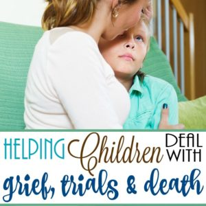 Parenting is hard enough, especially when your family goes through grief, trials and even death of a loved one. Here are some tips to help you talk with your child about it. :: www.inallyoudo.net