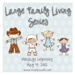 Maid for Mondays: Large Family Living series begins next week!