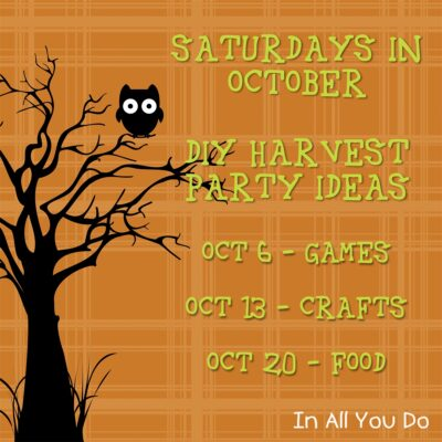 DIY Harvest Party Ideas – Crafts