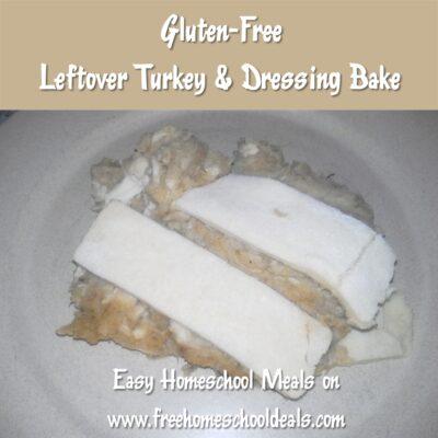 Gluten-Free Leftover Turkey Bake