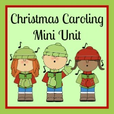Christmas Caroling Unit button