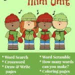 {free} Caroling Mini Unit with printables