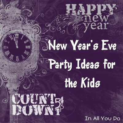 New Year's Eve Party at Noon for Kids