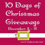 10 Days of Christmas Giveaway – Day One