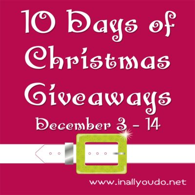10 Days of Christmas Giveaways – Day TWO