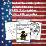 Martin Luther King Jr Day Unit Study: FREE Printables