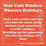 Jan 25th – OPPOSITE DAY Mini Unit