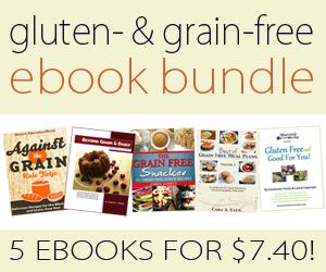 Gluten & Grain-Free ebook Bundle (5 books only $7.40!!)