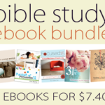 Weekly Ebook Bundle: Bible Study ~ 5 ebooks for only $7.40