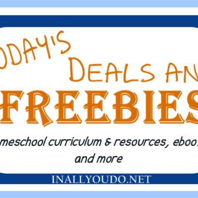Today's Homeschool and Kindle Deals & Freebies (3.12.13)