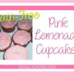 Grain-Free Pink Lemonade Cupcakes