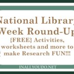 National Library Week Freebies Round-Up