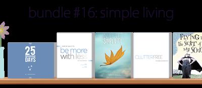Simple Living eBooks Bundle ~ 5 ebooks only $7.40!!!!