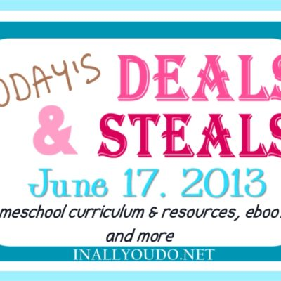 DEALS and STEALS {and a GIVEAWAY} from around the web