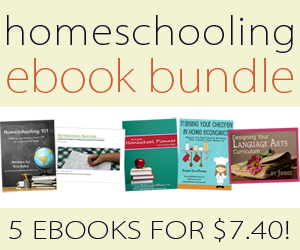 Homeschooling 5 eBook Bundle only $7.40!!!!