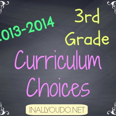 Our 2013-2014 3rd Grade Curriculum Choices & Link-Up!!!!!