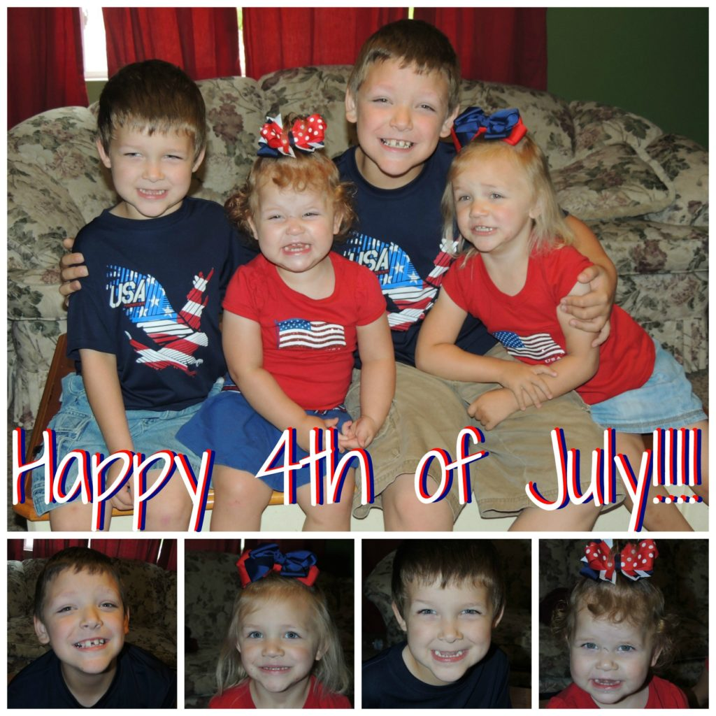 4th of July kids