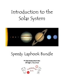 Solar System Speedy Lapbook – 15 unit Bundle $1.50 ~ Today ONLY!!!!