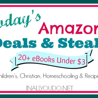 Kindle Deals & Steals ~ Popsicle Recipe Book, Homeschool High School, Rikki-Tikki-Tavi, Anne of Green Gables (142 short stories) and MORE!!!