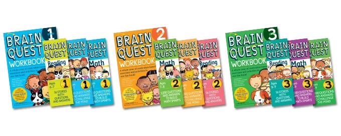 brain quest books