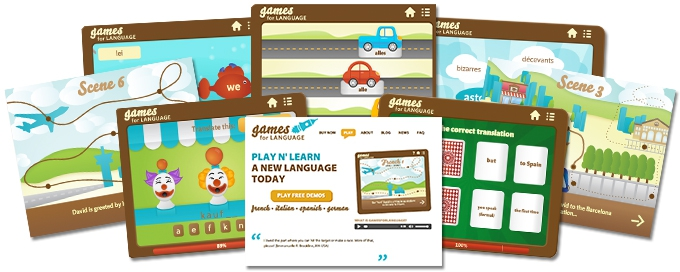 foreign language games
