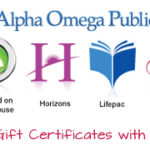 Alpha Omega Publishers HUGE 20% OFF Sale @ Hearts at Home ~ ONE DAY ONLY!!!!