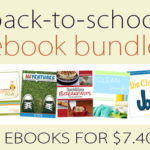 Back-to-School Bundle ~ 5 ebooks only $7.40!!!