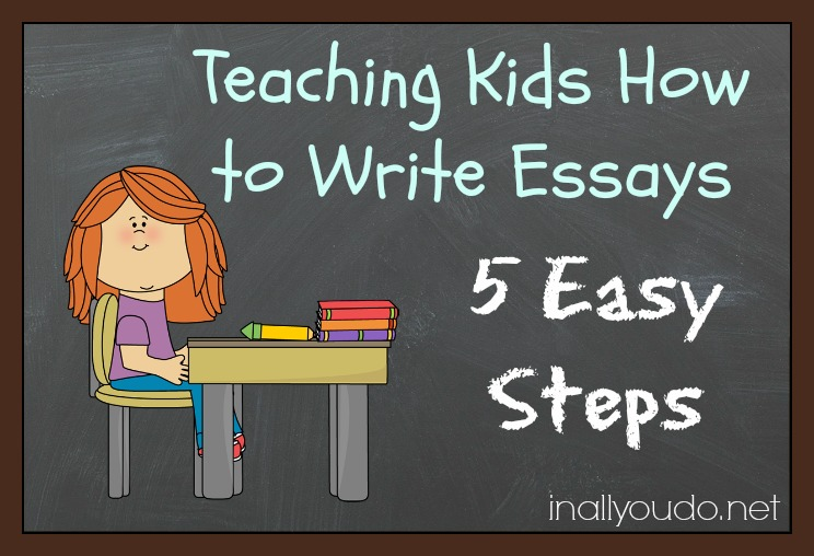 Essay Writing For Children
