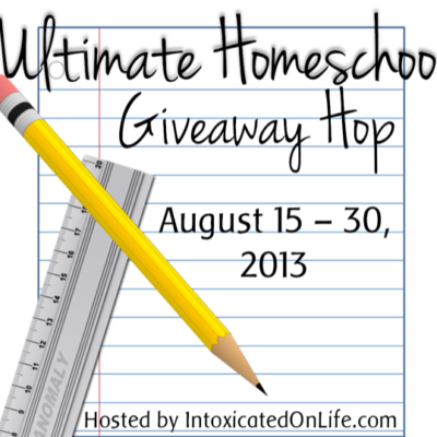 Ultimate Homeschool Giveaway Hop 2013