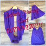 Infinity Nursing Scarf – WINNER!!!!