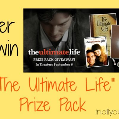 """""""The Ultimate Life"""" Giveaway"""