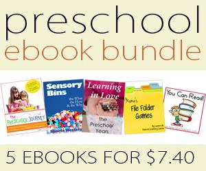 Preschool ebook Bundle ~ 5 ebooks only $7.40