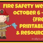 {free} Fire Safety Week Printables & Resources