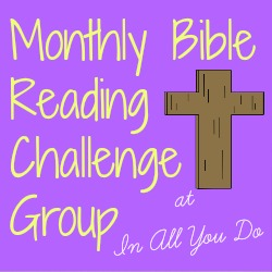 October Bible Reading Challenge