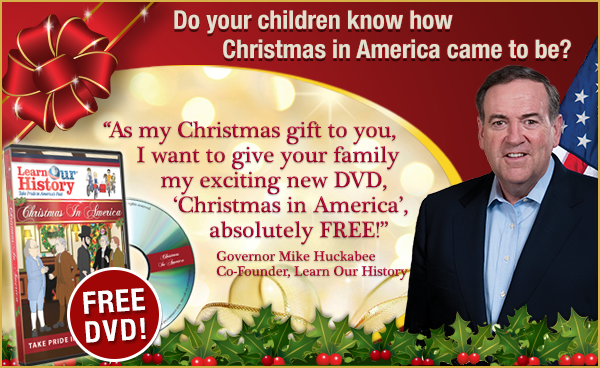 Free Learn Our History Christmas In America Dvd Just Pay Shipping