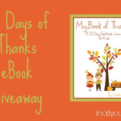 25 Days of Thanks eBook GIVEAWAY