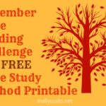 November Bible Reading Challenge & FREE Bible Study Method printable ~ Join me!!
