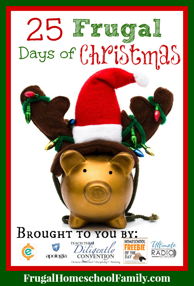25 Frugal Days of Christmas main