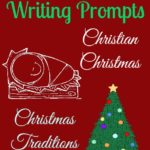 {free} Christmas Writing Prompts Printables
