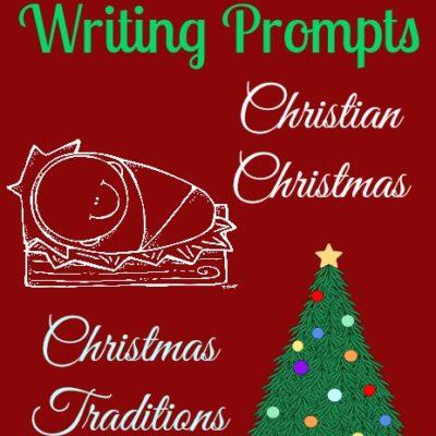 {free} Christmas Writing Prompts Printables