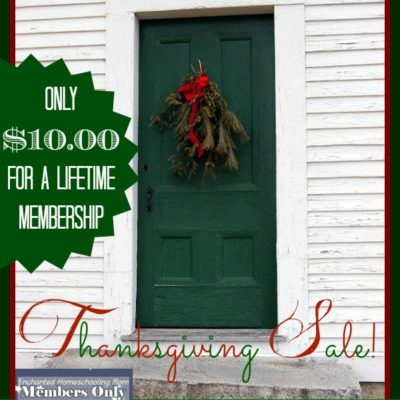 Door Buster Thanksgiving Sale at E.H.M.