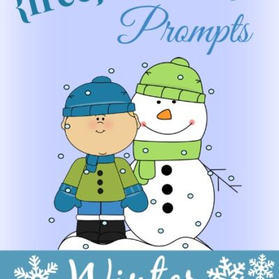 {free} Winter Writing Prompts