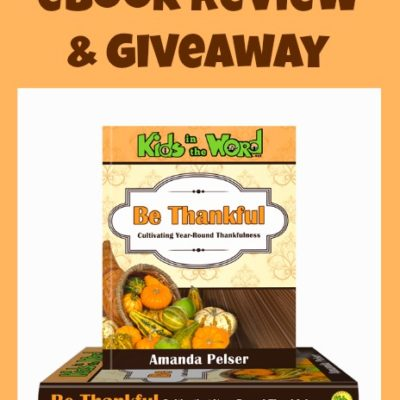 """Be Thankful"" Review & Giveaway"