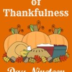 24 Days of Thankfulness ~ Day  19
