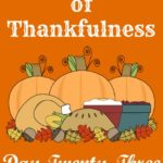 24 Days of Thankfulness ~ Day 23