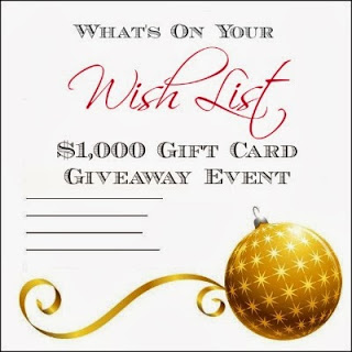 What's on Your Wish List? Giveaway!!