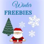 Winter and Christmas FREEBIES