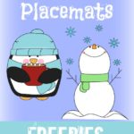 {free} Winter Placemats