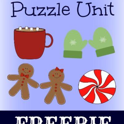 {free} Winter Mini Puzzle Unit