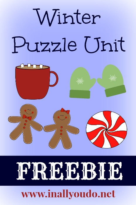 FREE 8-page Winter Mini Puzzle Unit includes Crosswords, Word Searches, Word Scrambles and MORE!!